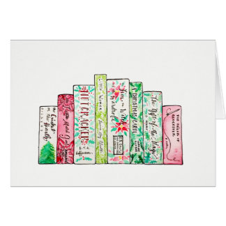 A Row of Holiday Classics Card