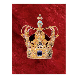 A Royal Crown Postcard