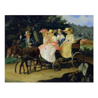 A Run, 1845-46 Postcard