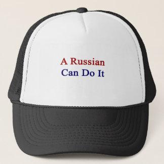 A Russian Can Do It Trucker Hat