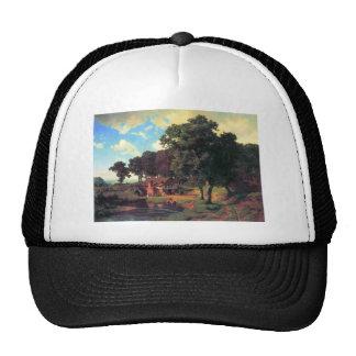 A rustic mill by Bierstadt Trucker Hat