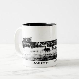 A.S.B. drinking vessel Two-Tone Coffee Mug