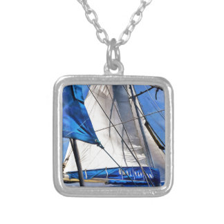 A Sailor Is An Artist And His Medium The Wind Silver Plated Necklace