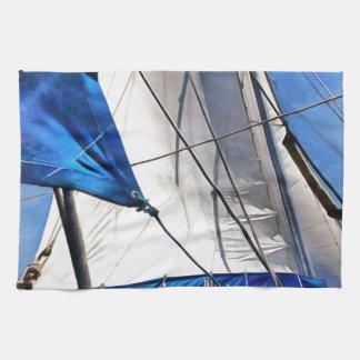 A Sailor Is An Artist And His Medium The Wind Tea Towel