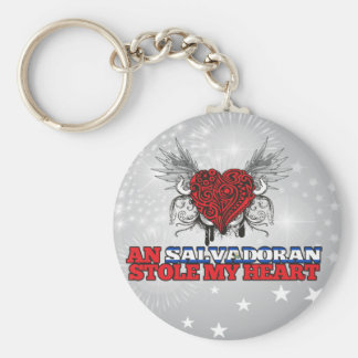 A Salvadoran Stole my Heart Key Ring
