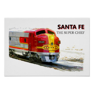A Santa Fe Poster