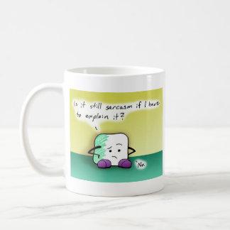 A Sarcastic Marshmellow Basic White Mug