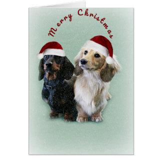 A Sausage Christmas Card