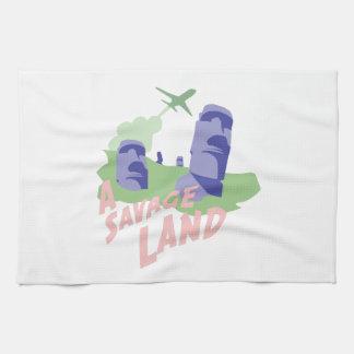 A Savage Land Kitchen Towels