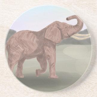 A savannah elephant coaster