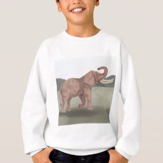 A savannah elephant sweatshirt
