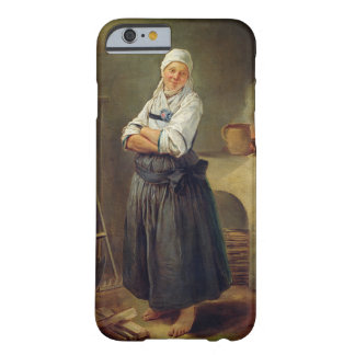 A Saxon Villager in her Kitchen (oil on canvas) Barely There iPhone 6 Case