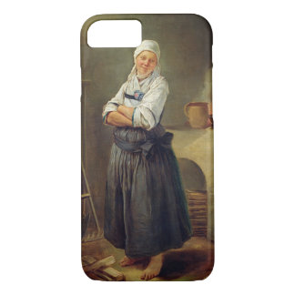 A Saxon Villager in her Kitchen (oil on canvas) iPhone 7 Case