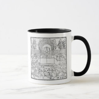 A Scene from the Decameron Mug