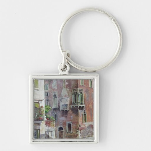 A Scene in Venice Keychains