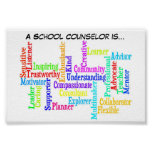 """A School Counsellor is.."" Poster"