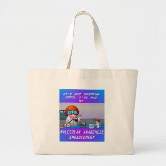 A Scientist Morning Jumbo Tote Bag