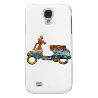 A SCOOTING ALONG GALAXY S4 CASE