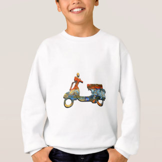 A SCOOTING ALONG SWEATSHIRT