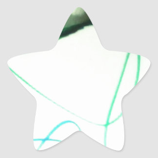A Scribble or a Scrawl Star Sticker