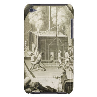 A sculptor's foundry, from the 'Encyclopedie des S iPod Case-Mate Cases