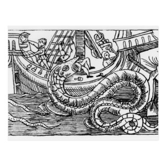 A Sea Serpent Postcard