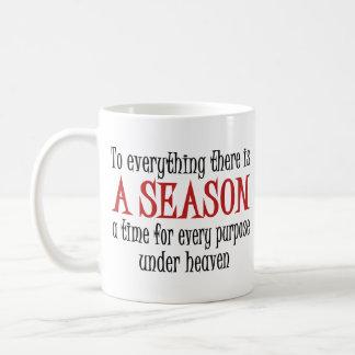 A Season Basic White Mug