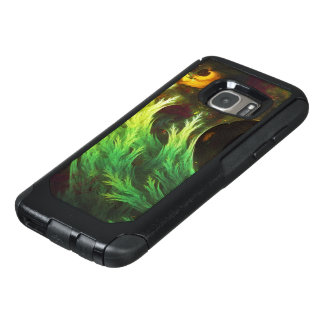 A Seaweed's DeepDream of Faded Fractal Fall Colors OtterBox Samsung Galaxy S7 Case