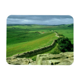 A section of Hadrian's Wall, 2nd century AD (stone Rectangular Photo Magnet