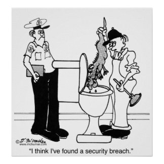 A Security Breach Poster
