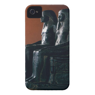 A seigneurial couple in ceremonial clothes, New Ki iPhone 4 Cover