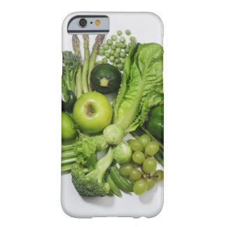 A selection of green fruits & vegetables. iPhone 6 case