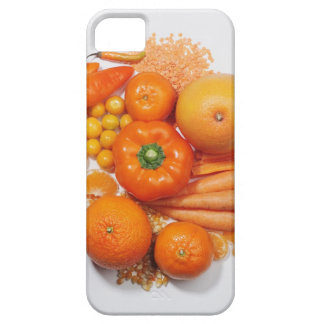 A selection of orange fruits & vegetables. barely there iPhone 5 case