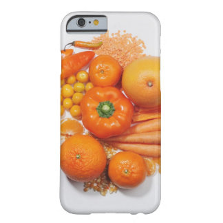 A selection of orange fruits & vegetables. barely there iPhone 6 case