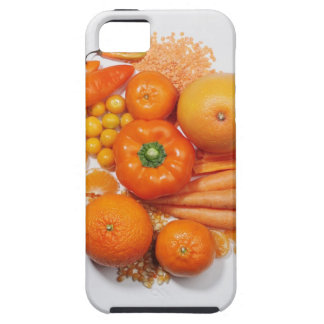 A selection of orange fruits & vegetables. iPhone 5 covers