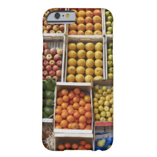 A selection of organic boxed fruit on barely there iPhone 6 case