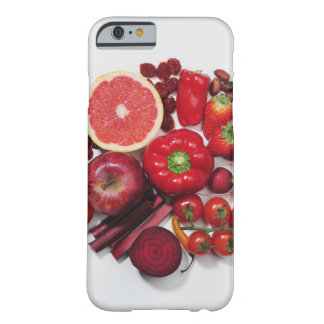 A selection of red fruits & vegetables. iPhone 6 case