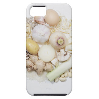 A selection of white fruits & vegetables. iPhone 5 covers