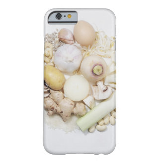 A selection of white fruits & vegetables. iPhone 6 case