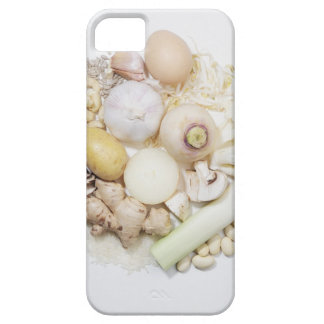 A selection of white fruits & vegetables. iPhone 5 cases