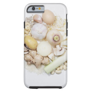 A selection of white fruits & vegetables. tough iPhone 6 case