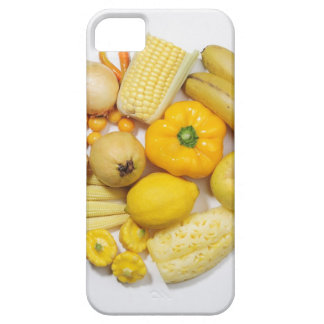 A selection of yellow fruits & vegetables. iPhone 5 cover