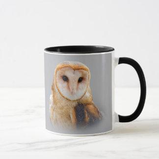 A Serene Barn Owl Mug