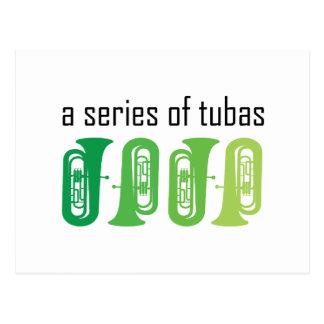 A Series of Tubas Postcard