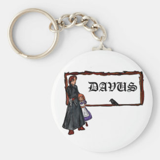 A Serious Man Keychain