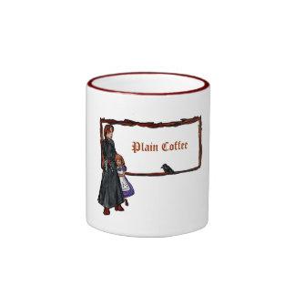 A Serious Man Ringer Coffee Mug