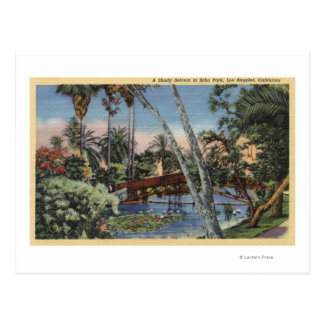 A Shady Retreat in Echo Park Postcard