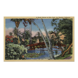 A Shady Retreat in Echo Park Poster