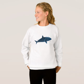 A shark sweatshirt