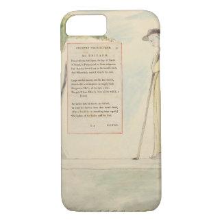A Shepherd Reading the Epitaph, from Elegy Written iPhone 7 Case